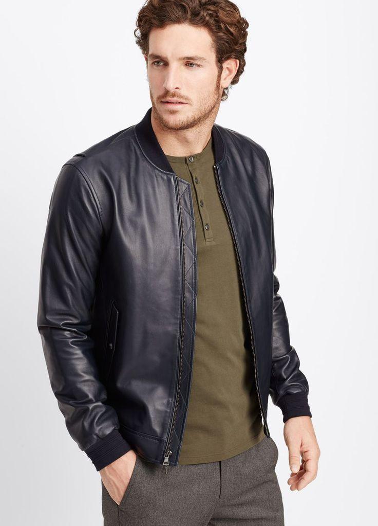 9 best Leather Jackets images on Pinterest | Menswear, Jacket men ...