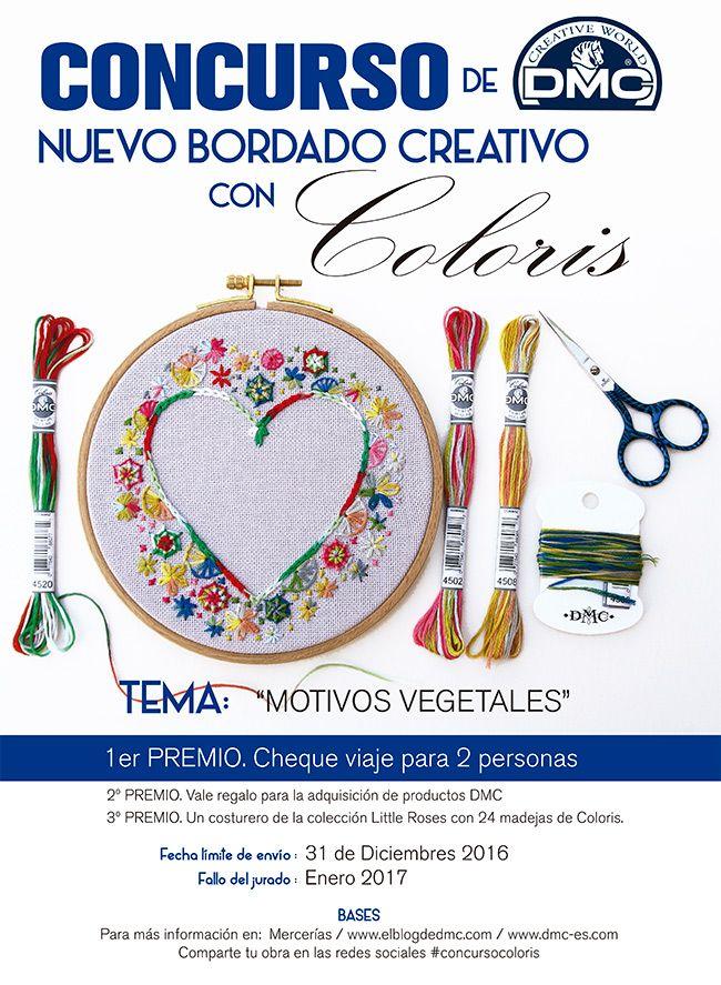El blog de Dmc: Concurso de bordado Coloris