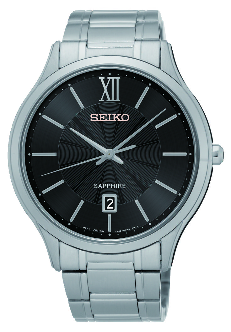 SEIKO GENTS QUARTZ STAINLESS STEEL SGEH53P1