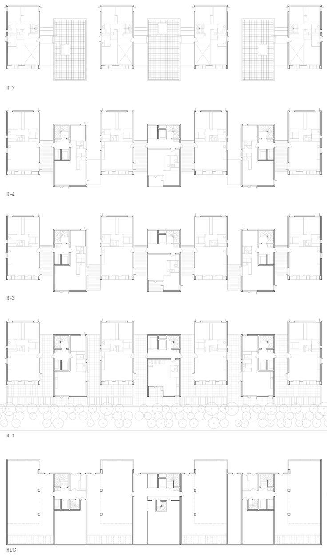 Clement Vergely Architectes  |   Lyon Confluence.    Lyon, France