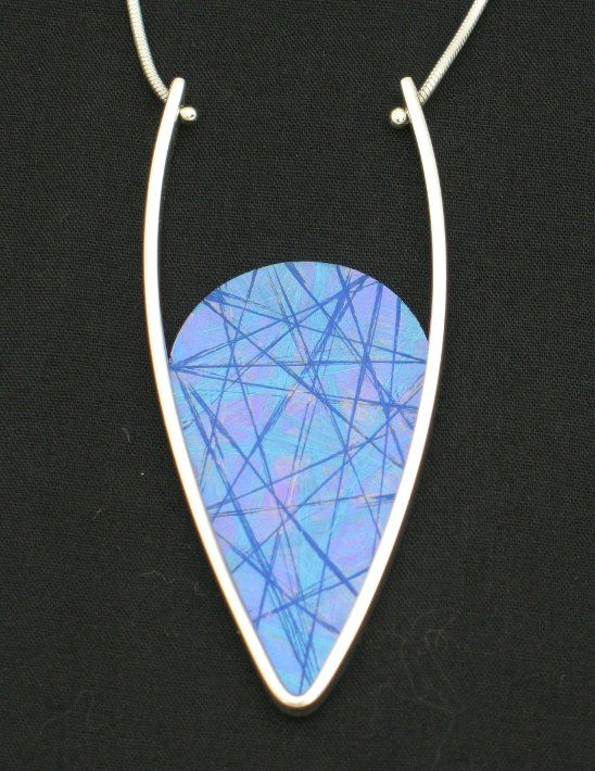 Jean-Yves Nantel titanium and silver pendant jewelry