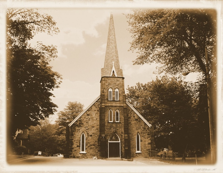 St George Church_Sydney_Cape Breton_1785_Sydney's Oldest Building http://CaperPhotos.Com