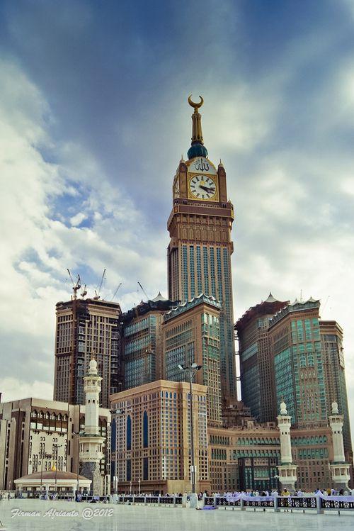 View of Makkah Clock Tower from al-Masjid al-Haram
