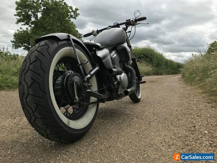 Honda VT600 custom bobber only 10k miles #honda #vt600c #forsale #unitedkingdom