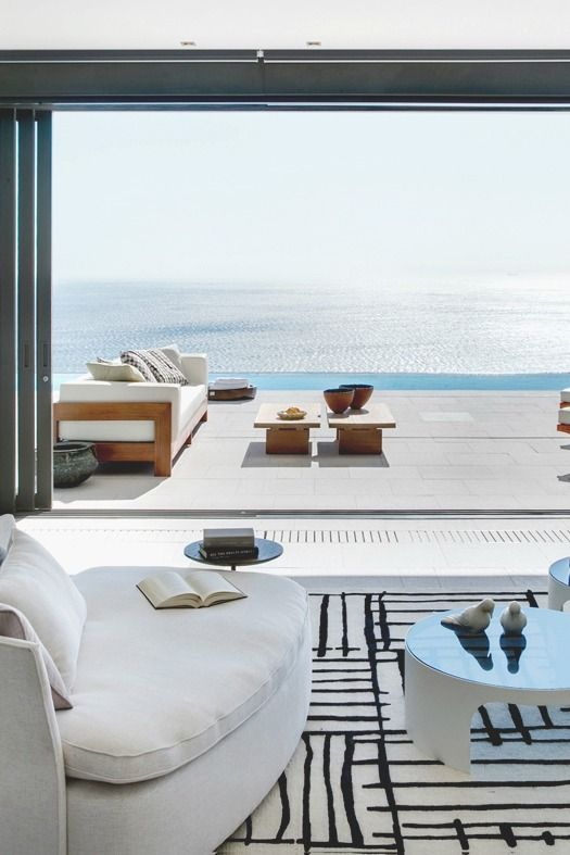 Coastal chic...and what a view!