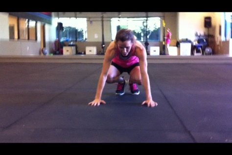 Burpee for Boobs...Fight against breast cancer!