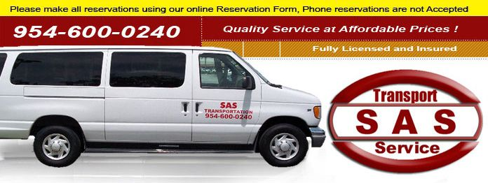 Shuttle service everyone uses from FLL airport to Miami port.