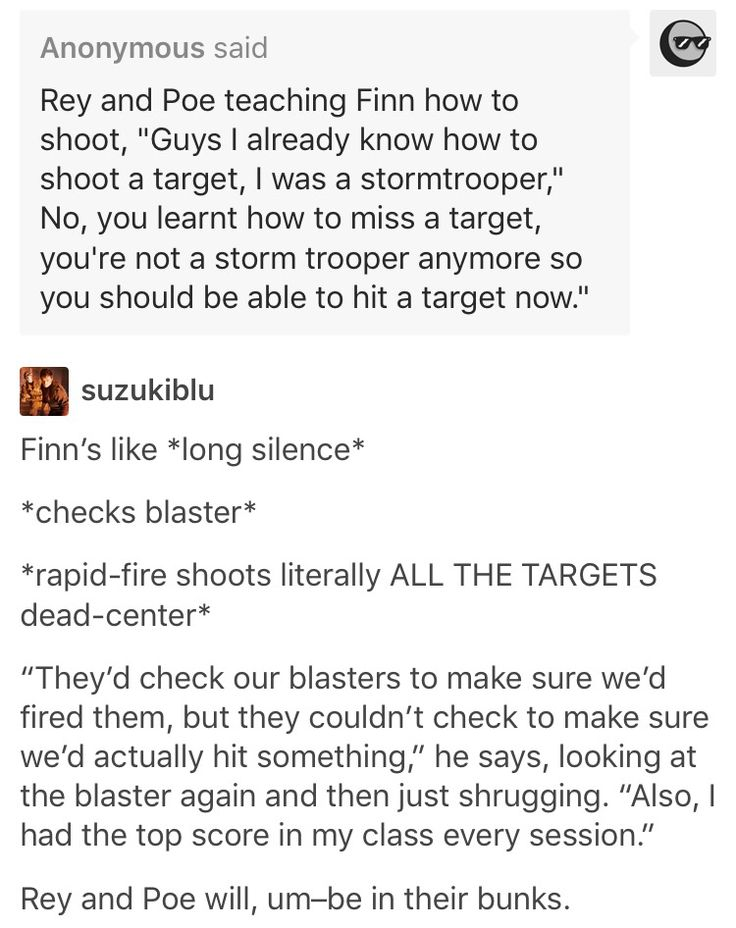 Oh my gosh. That's actually one of the more interesting theories for stormtrooper aim right there.
