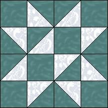 Block of Day for February 06, 2016 - Free Trade strip piecing...The pattern may be downloaded until: Sunday, February 28, 2016.