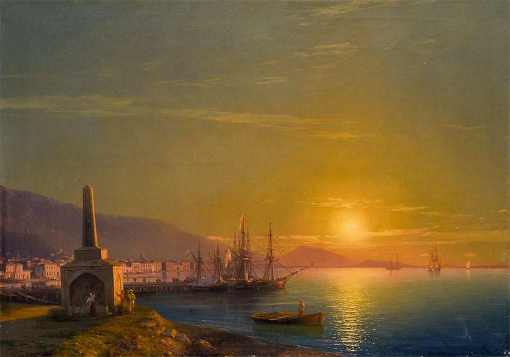 И.К. АЙВАЗОВСКИЙ. Восход солнца в Феодосии. 1855
