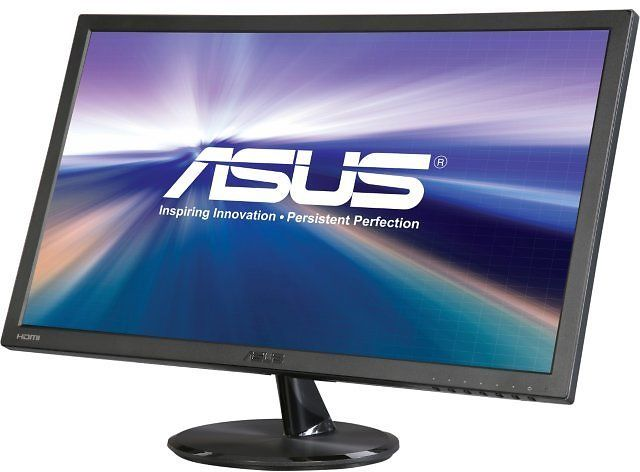 "ASUS VP247H-P Black 23.6"" 1ms HDMI Widescreen LED Backlight LCD Monitor 250 Cd/m2 100000000:1 Built-in Speakers"
