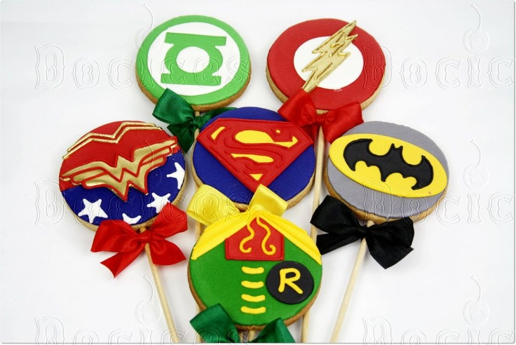 Super Hero cookies  Blog da Roberta Giovaneli