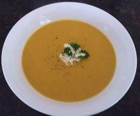 Recipe Spiced Pumpkin & Coconut Soup by Julie Goodwin by mumoftwo - Recipe of category Soups