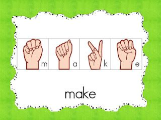 Sign Language sight word cards: Sight Words, Languages, Words Cards, Language Sight, Classroom Freebies, Lirett Learning, Sign Language, Signs Language, Classroom Ideas