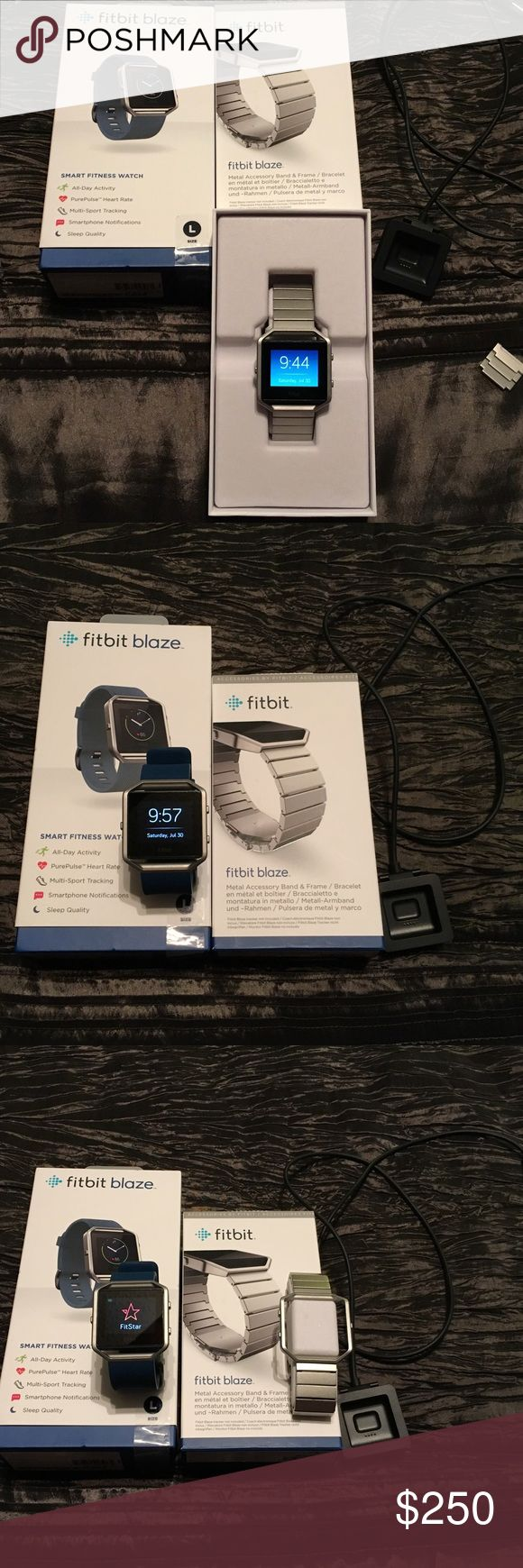 Selling this Fitbit Blaze Bundle in my Poshmark closet! My username is: vmmc. #shopmycloset #poshmark #fashion #shopping #style #forsale #Fitbit #Accessories