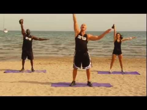 20 Minute Kettlebell BootCamp Workout - YouTube - no repeated exercises!