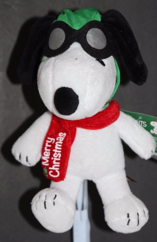 Peanuts Christmas Snoopy Plush Musical Peanuts Theme Song Charlie Brown Pilot