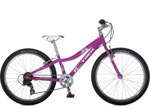 Trek MT Track 200 Girls 2013    The Trek MT Track 200 Girls mountain bikes are the real deal, with light frames, knobby tires, quality parts, durable construction, and Dialed adjustable components that can grow with young riders.