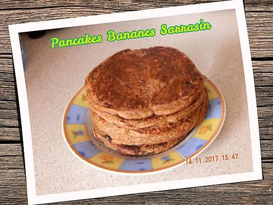 recette Pancakes bananes sarrasin
