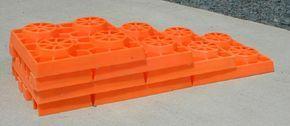 Cut blocks in 1/2