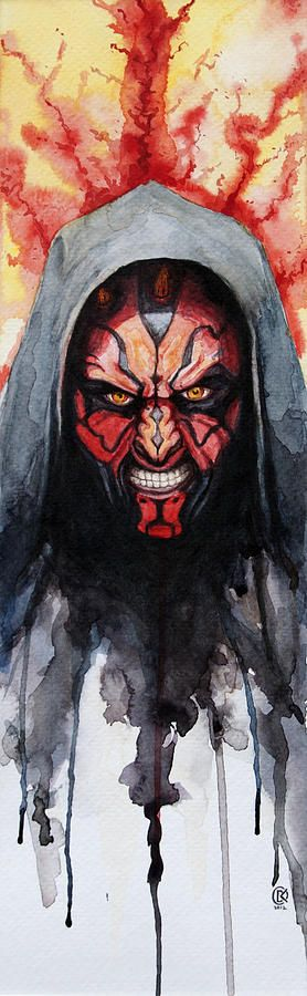 Darth Maul Painting by David Kraig