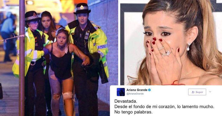 Lamentablemente se dio a conocer la noticia de una explosión durante el concierto de la cantante Ariana Grande en el estadio de Manchester se reportan muertos