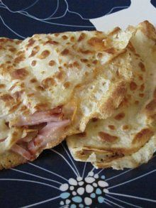 Ham & Cheese Crepes | Recipe | Crepes, Hams and Kid Foods