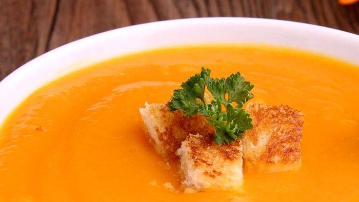 Zuppa di zucca con patate