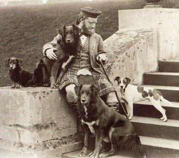 Queen Victoria's Mr. Brown and dogs                                                                                                                                                                                 More