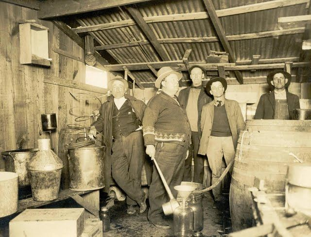 Historical Photos Of Mcalester Raid On A Whiskey Still
