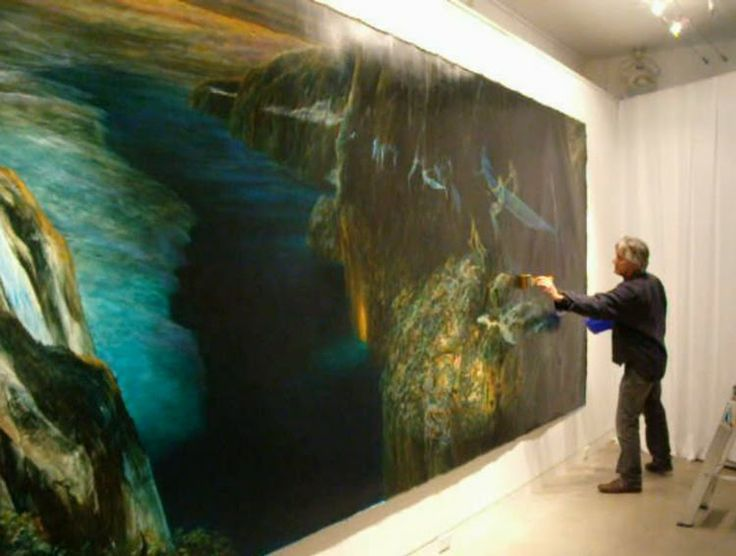 John Walsh 2010/ artist at work