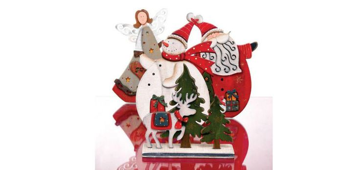Box-Home • Χριστουγεννιάτικα Ξύλινα Διακοσμητικά