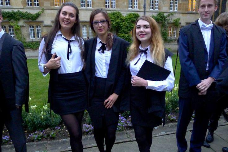 Nina Handzewniak - Ellesmere College właśnie rozpoczyna studia medyczne na Oxford University!