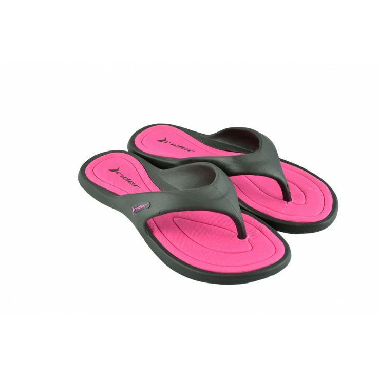 Chanclas flip-flop bicolor, de goma para agua de RIDER.