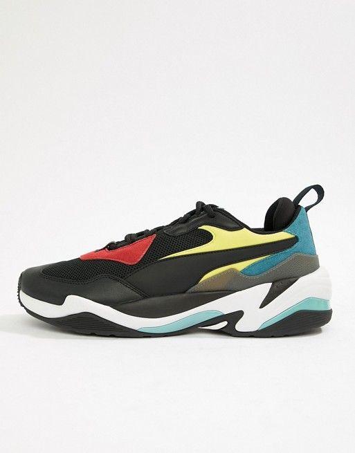 e12e24a473569 Puma Thunder Spectra Sneakers In Black 36751601 in 2019 | Puma ...
