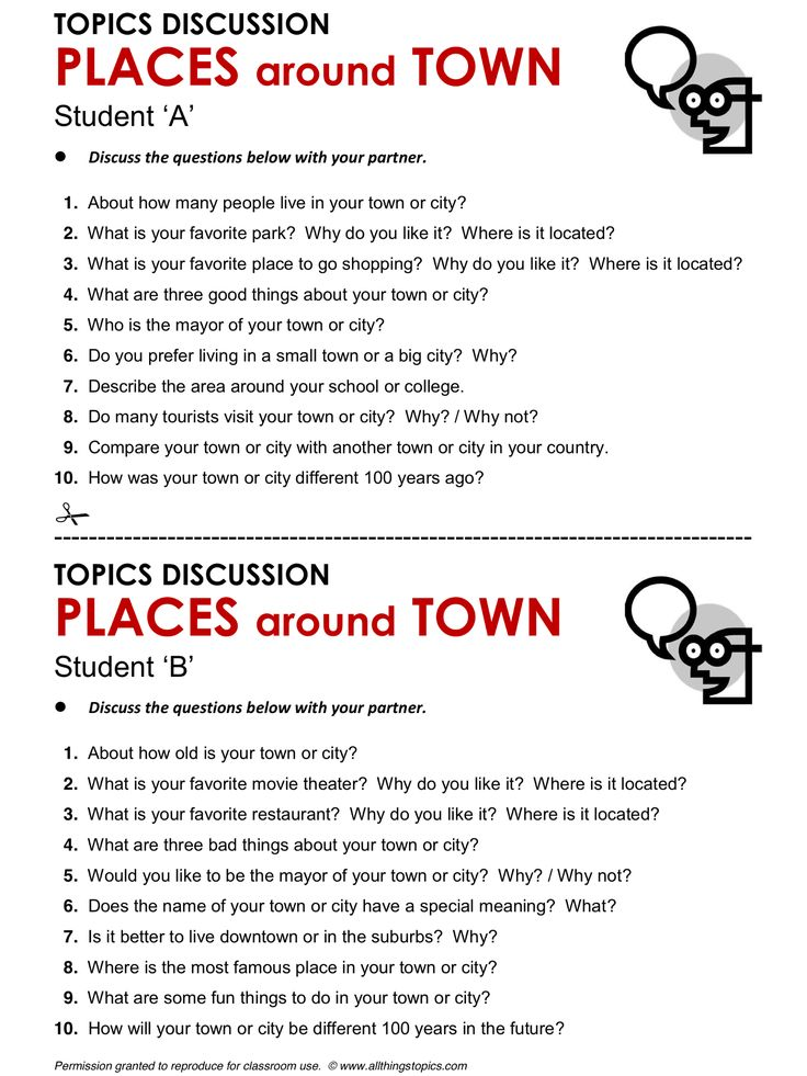 Places Around Town, English, Learning English, Vocabulary, ESL, English Phrases, http://www.allthingstopics.com/places-around-town.html