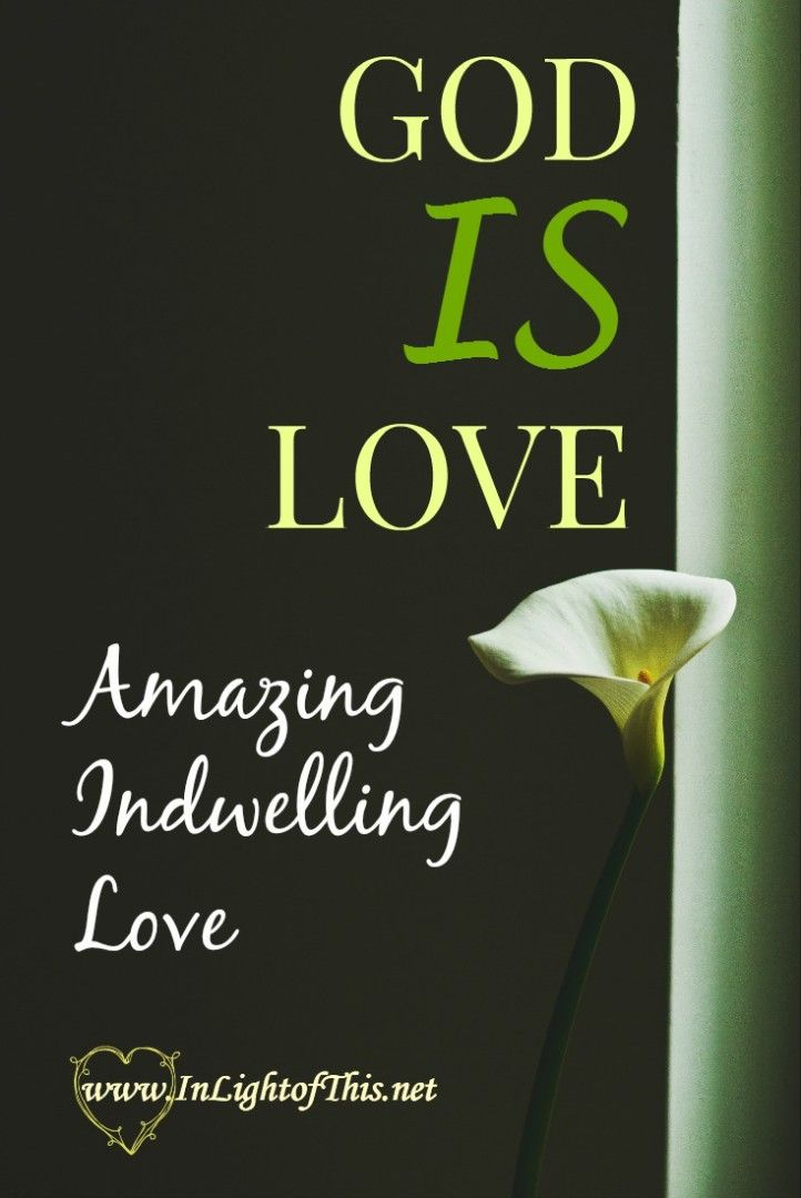 """To say that """"God loves me"""" isn't about an emotional response that God has, it is anintegralpart of hisbeing. God does not just love – God IS love."""