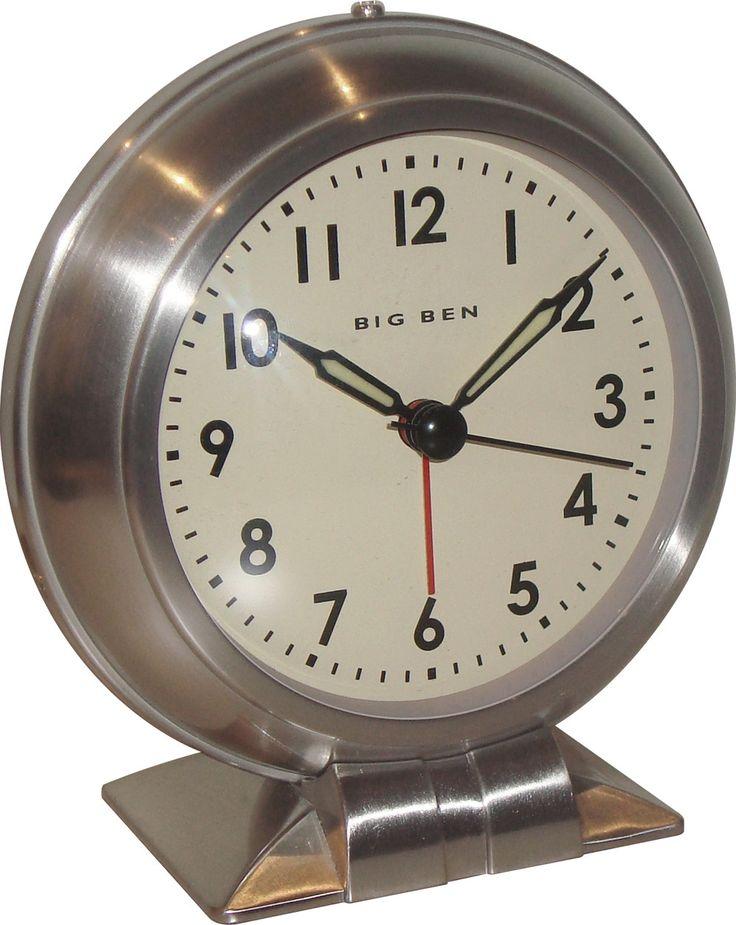 Big Ben Metal Quartz Alarm Clock