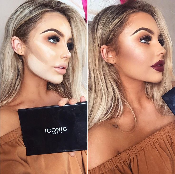 I've been using @iconic.london cream contour palette the last few months and I am obsessed - I find cream contouring the easiest and most forgiving way to contour. Super creamy and blendable - I cannot do my make up without this product, seriously. #iconicbae #contour #iconiclondon