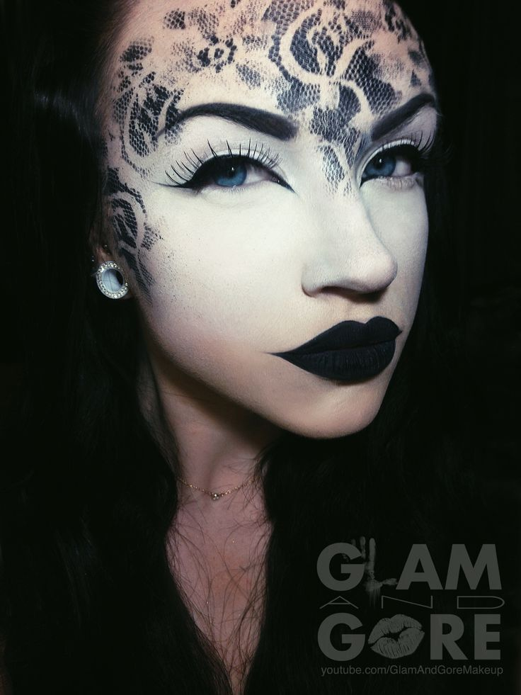 17 Best images about corpse paint make up on Pinterest Digital art - best halloween face painting ideas