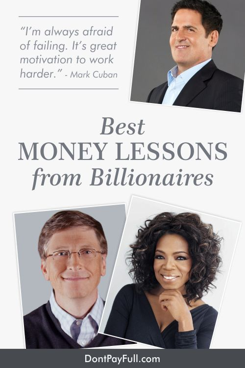Have you ever wondered how rich people get richer and stay that way? Let's not even consider those who inherited their wealth. Instead, let's take a look at the self-made men and women who made it into the big time. What are their secrets? #DontPayFull