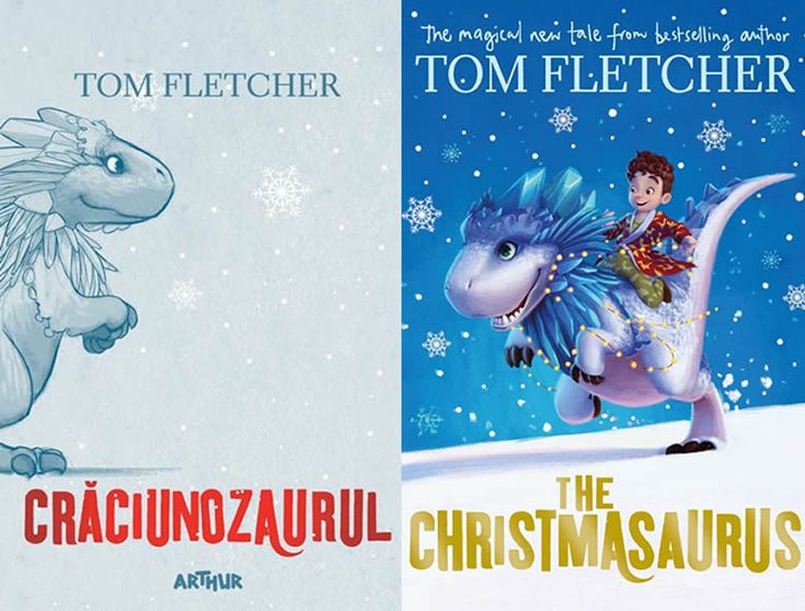 Crăciunozaurul, o aventură crăciunomagică alături de William Trundle, la Editura Arthur