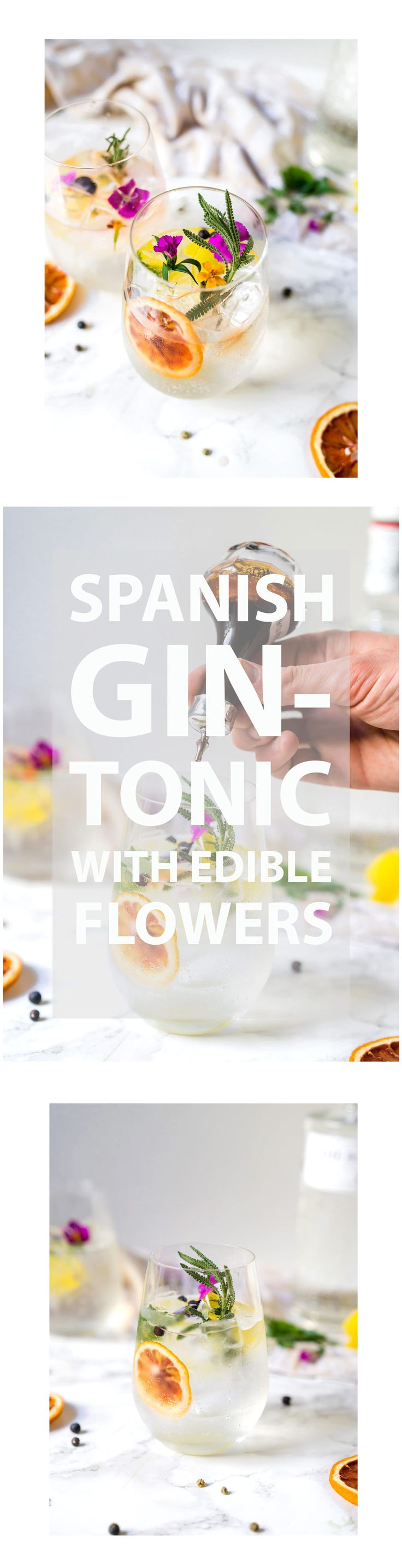 A Spanish Gin Tonic is a whole new experience! An aroma of dreams!