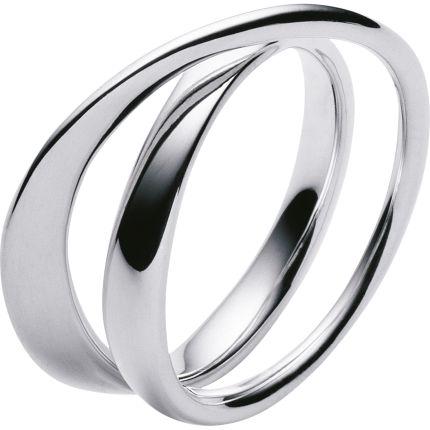 MÖBIUS ring - sterling silver / Georg Jensen
