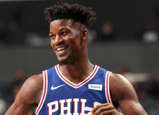 e618408e3ad3 Jimmy Butler  Playing with 76ers  Night and Day  to Tenure in Minnesota