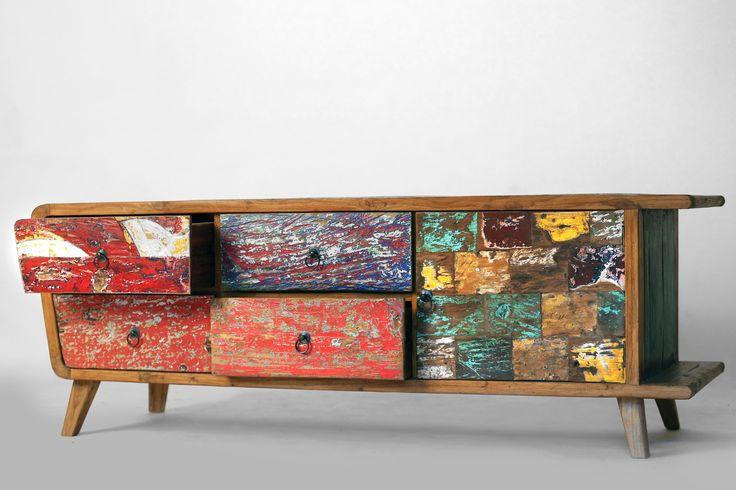 25 best meuble exotique images on pinterest for Meuble tv hauteur 50 cm
