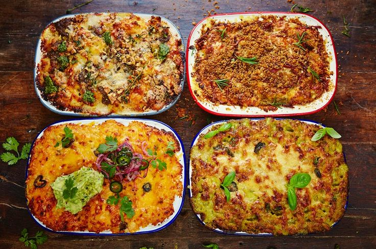 A good mac 'n' cheese is the ultimate pasta bake, but also a blank canvas that's perfect for experimenting with. Here are four incredible twists.