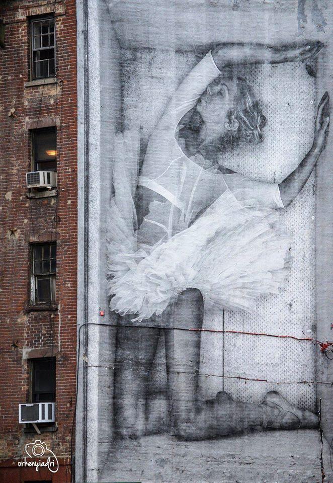 travel photography graffiti nyc new york city balerina ballet ballett usa us united states of america