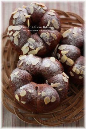 「チョコ好きのためのショコラリング♪」あいりおー | お菓子・パンのレシピや作り方【corecle*コレクル】