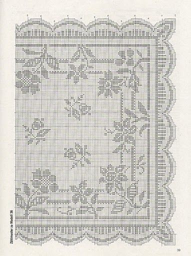Kira crochet: Crocheted scheme no. 507